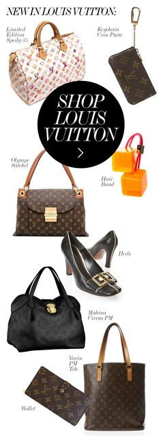 NEW IN LOUIS VUITTON