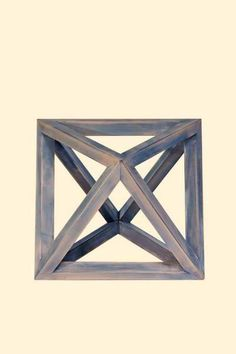 The Octahedron represents the element of Air and is linked to the Heart chakra