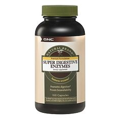 Promotes Protein, Carbohydrate and Fat Digestion<br><br><br><b>GNC QUALITY COMMITMENT</b><br><br>GNC is the leader in the development and manufacture of dietary supplements, committed to producing the highest quality products available. This commitment begins with quality designed supplement formulations. Every raw material that goes into a GNC supplement is guaranteed as to quality and potency. Each product is dated and then shipped immediately to our stores, so you can be sure you are…