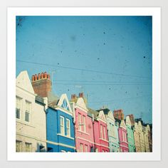 Rainbow Street Art Print by Cassia Beck - $20.80