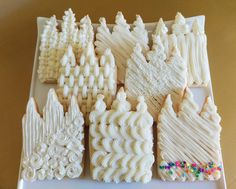 LDS Temple Cookies Buttercream