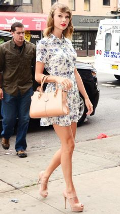 69 Reasons Why Taylor Swift Is a Street Style Pro - July 9, 2014 from #InStyle