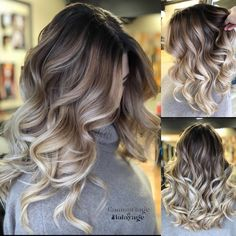 Are you going to balayage hair for the first time and know nothing about this technique? We've gathered everything you need to know about balayage, check! Best Ombre Hair, Brown Ombre Hair, Ombre Hair Color, Brown Hair Colors, Carmel Ombre Hair, Blonde Fall Hair Color, Fall Hair Colors, Blue Hair, Dark Hair