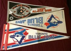 Sports Pennants Toronto Blue Jays NHL by CollectorsAdditions
