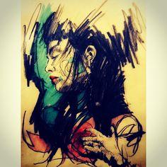 iamjavo's photo on Instagram 2d Art, Joker, Watercolor, Fictional Characters, Instagram, Pen And Wash, Watercolor Painting, Jokers, Watercolour