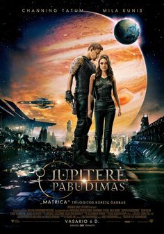 Official site for the Wachowski's sci-fi fantasy film, 'Jupiter Ascending', starring Mila Kunis, Channing Tatum and Sean Bean. Available now on Digital HD & on Blu-ray Film Science Fiction, Fiction Movies, Sci Fi Movies, Hd Movies, Movies To Watch, Movies Online, Movie Film, Nice Movies, Film Watch