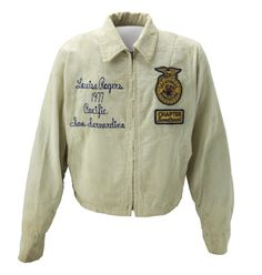 The FFA Sweetheart Jacket- a long history behind this unique version of official dress Ffa Official Dress, Official Dresses, Ffa Jacket, Livestock Judging, American History Museum, Leadership Workshop, Class Of 2019, Museum Collection, 1970s