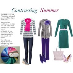 """""""Contrasting Summer"""" by expressingyourtruth on Polyvore"""