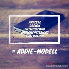 Wie kann Ihnen das #ADDIE-Modell dabei helfen, erfolgreiche #ELearning Kurse zu erstellen? — digitaleducation.tv - einfach.effizient.lernen mit videobasierten E-Learnings in SCORM