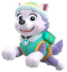 everest snow plow paw patrol | Щенячий патруль Эверест и её друзья ...