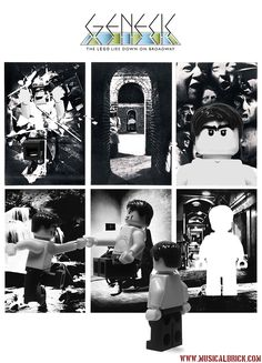 Genesis The Lamb Lies Down on Broadway Lego