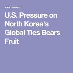 U.S. Pressure on North Korea's Global Ties Bears Fruit