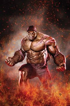 Hulk #635 By Adi Granov #Comics #Illustration #Drawing