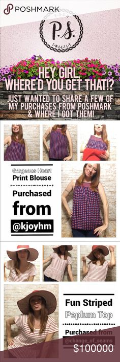 Check Out these awesome sellers 💕 So y'all know me, I'm a shopaholic & try to reward myself w/ 1 purchase a week on here. I've gotten so many amazing items that I'm just in love with. I've also met some top-notch sellers that I just want to buy from over & over again! I'll post more when I have time to model the photos. I just want these awesome sellers to see me rockin' my new stuff & also recommend them to you all! **Any seller mentioned in these pics not only sent me awesome items but…