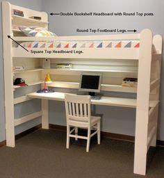 15 best loft bed dorm images bunk beds furniture kids room rh pinterest com