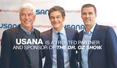 USANA, Dr. Mehmet Oz, and HealthCorps® have joined forces to further the shared mission of fighting teenage obesity. Through this partnership, USANA is lending a helping hand to an organization committed to dealing with one of the most pressing health issues in the United States.