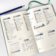 25+ Tips For Using The Bullet Journal System | Life Goals Mag