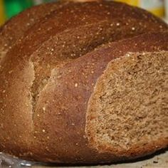 Pumpernickel Bread. Trying this tomorrow!!