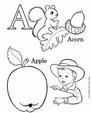 ABC Alphabet Coloring Pages Sheets And Pictures