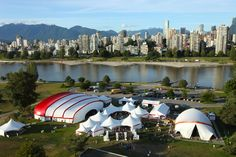 Award of Excellence for tent manufacturing & design: Main Stage Venue for Bard on the Beach Shakespeare Festival