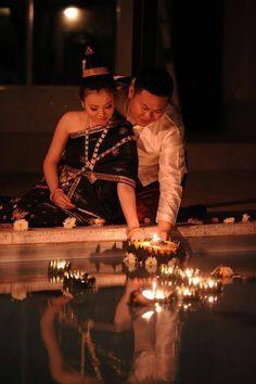 Lao culture - beautifuL attire