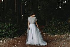 Photography – Jess Hunter Makeup & Hair Artist – Yessie Libby Wedding Dress – BHLDN, Sarah Seven
