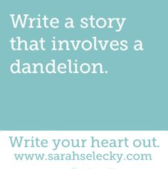 story about dandelion