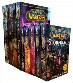 Warcraft - World Of Warcraft - 8 Books Series 1 and 2 Collection Set Pack (Chronicles of War, Night of the Dragon, Dawn of the Aspects, The Shattering, Thrall Twilight of the Aspects, Arthas Rise of the Lich King, Stormrage, Voljin Shadows of the Horde): Amazon.co.uk: Christie Golden, Richard A Knaak, Michael A Stockpole: 9789124373146: Books
