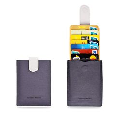 RFID Minimalist Slim Wallets - Credit Card Holder Front Pocket Wallet for Men Women. RFID Blocking Tested: Our wallets have been tested and insulation prevents electronic pick pocketing, Protect your information for credit cards / debit card. Sleek and Stylish: Allows all of your cards to cascade out when the tab is pulled, revealing all of your cards at once. Instead of a bulky leather wallet. Thin yet Durable: Holds up to 8 cards in its main compartment, Got extra cards / emergency…