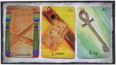 The Egyptian Lenormand - Crossroads, Letter, and Key.http://www.egyptianlenormand.com/