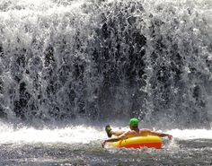 See photos of Hooker Falls at Dupont State Recreational Forest, a waterfall and swimming hole in the North Carolina mountains. Nc Mountains, North Carolina Mountains, North Carolina Homes, Blue Ridge Mountains, Nc Waterfalls, North Carolina Waterfalls, Best Swimming, Swimming Holes, Dupont State Forest
