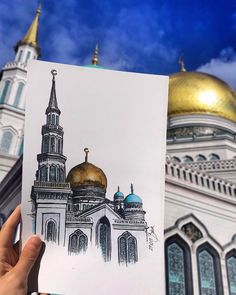 Russia - @ayssbagram - Tag #atraveldiary and indicate the country where you created your sketch. And maybe you may get to be featured • • • • • • Repost from @ayssbagram - #artist #artwork #artiste #artgram #artstagram #artgallery #artistoninstagram #artistlife #artlover #arts_help #art_empire #artjournal #artislife #art_spotlight #art_collective #artist_features #artbook #artdaily #artistsofinstagram #artporn #artnouveau #artistofinstagram #aquarellepainting #aquarelle #carnetdevoyage #...