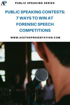 Here's a list of tips to help you WIN at a Public Speaking Contest. There are many ways to lose, but surely with the right tips you can nail your next forensic speech competition.  #publicspeakingcontest #forensicspeech #typesofspeech