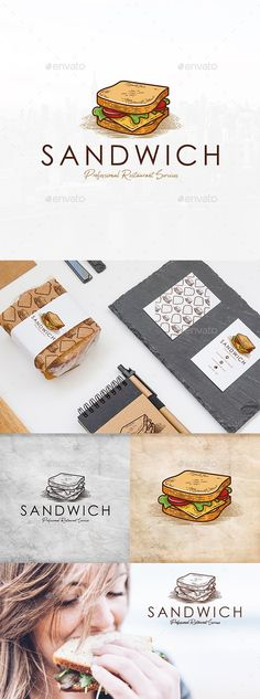 Sandwich Shop Logo Template by BossTwinsMusic | GraphicRiver