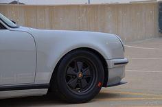 1986 Porsche 911 Carrera Turbo short hood custom front bumper