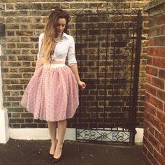 5 faldas fáciles de hacer y refashion - sin un patrón de costura! - Por la mano de Londres