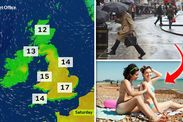 UK Weather: Britain BRACED for GLOOMY conditions with few places getting sunny spells -  The cloudy start to the week is set to continue in the east of England with drizzly rain returning to East Anglia and the south east of the country.  This will turn misty and murky with a few fog patches especially along eastern coastal regions where winds will continue to blow.  These chilly easterly breezes will cause temperatures to drop to five or six degrees Celsius in parts of the UK overnight and…