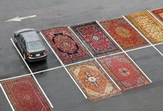 Joshua Citarella, Occupy Parking Lots (with Persian Rugs) on ArtStack #joshua-citarella #art