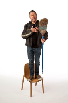 Broom Chair designed by Philippe Starck for Emeco.