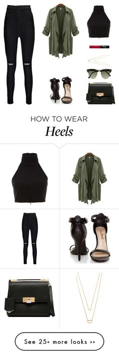 """Untitled #676"" by patrisha175 on Polyvore featuring мода, Boohoo, NARS Cosmetics, Gorjana, Balenciaga, Ray-Ban и Anne Michelle"