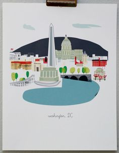 Washington DC. Bought this print and have it on my office bookshelf. Love it.