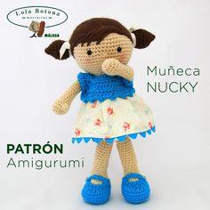 PATRÓN AMIGURUMI MUÑECA NUCKY