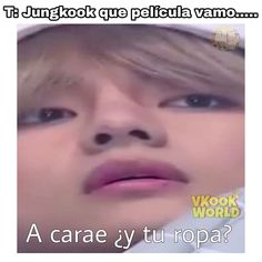 "Read from the story ¡Enamorado de mi Acosador!""༄! KookV,/ Taekook by (𝗦𝗰𝗲𝗻𝗮𝗿𝘆_🦁) with 366 reads. Memes Bts Español, Vkook Memes, Funny Memes, Taekook, Bts Taehyung, Bts Jungkook, Namjin, S Videos, Funny Questions"