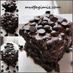 ıslak kek ıslak kek browni tarifi
