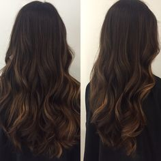 Beautiful coffee hair color #wella #wellalife #wellaeducation #dyerandpostasalon #hairbyKrisMB #mochahaircolor #balayage #longlayers