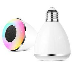 Ampoule LED Connectée Bluetooth BL08A avec Enceinte Intégrée 3 Watts - Compatible Apple iOS & Android_0