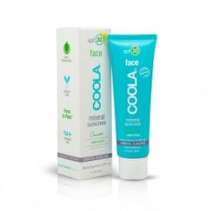 COOLA Organic Suncare Collection Mineral Face Mineral Sunscreen SPF 30 Matte Tint Unscented fl oz ml) Facial Sunscreen, Natural Sunscreen, Sunscreen Spf, Protector Solar, Best Sunscreens, Moisturizers, Acne Prone Skin, Oily Skin, Sensitive Skin