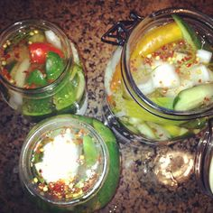 Ashley Thunder Events: DIY Spicy Pickles