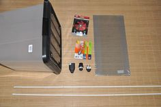 Plastic Box Jerky/biltong Maker and Dehydrator. Best Jerky, Aluminum Screen, Dried Vegetables, Biltong, Old Computers, Dog Feeding, Diy Box, Storage Boxes, Plastic