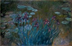 Artist:Claude Monet  Start Date: 1914  Completion Date:1917  Style:Impressionism   Genre:flower painting